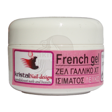Εικόνα της KRISTALHAIR UV French Gel 15ml