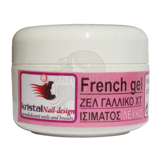 Εικόνα της KRISTALHAIR UV French Gel 30ml