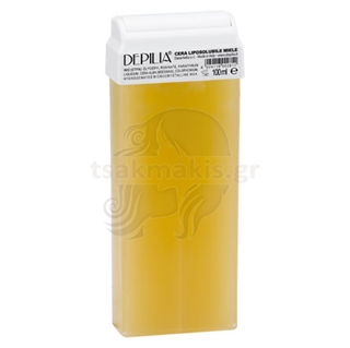 Εικόνα της DEPILIA Roll-on Wax 100ml Honey