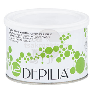 Εικόνα της DEPILIA Liposoluble Wax 400ml Chlorophyll