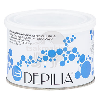 Εικόνα της DEPILIA Liposoluble Wax 400ml Azulene