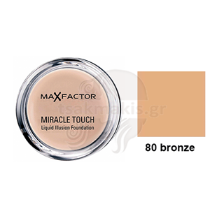 Εικόνα της MAX FACTOR Miracle Touch No 80