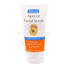 Εικόνα της BEAUTY FORMULAS Facial Scrub Apricot 150ml