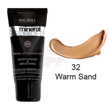Picture of INGRID Mineral Silk & Lift Make-up Foundation Νο 32